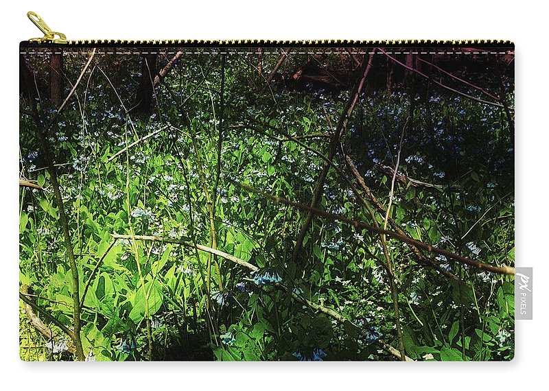 Virginia Bluebell Carry-all Pouch featuring the photograph Bluebell 24 by Galen Puronen