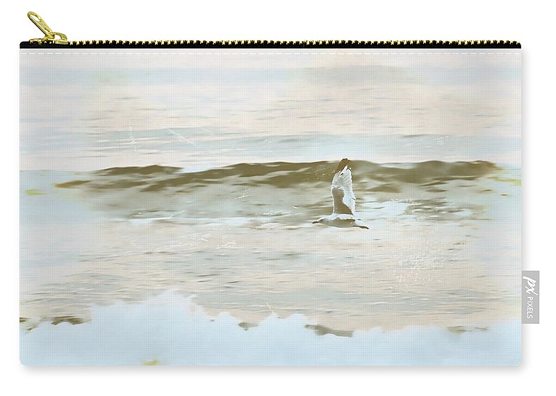 Outerbanks Carry-all Pouch featuring the photograph Blues And Greens by JAMART Photography