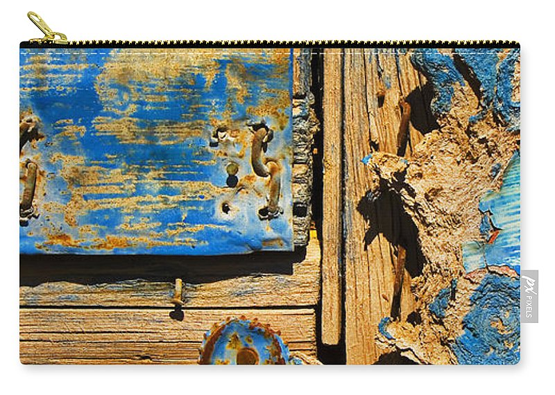 Abstract Carry-all Pouch featuring the photograph Blues Dues by Skip Hunt