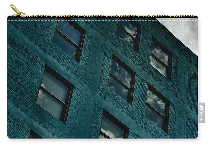 Blue Carry-all Pouch featuring the photograph Blues by Margie Hurwich