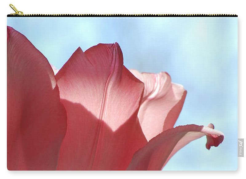 Tulip Carry-all Pouch featuring the photograph Blush by Michelle Hastings