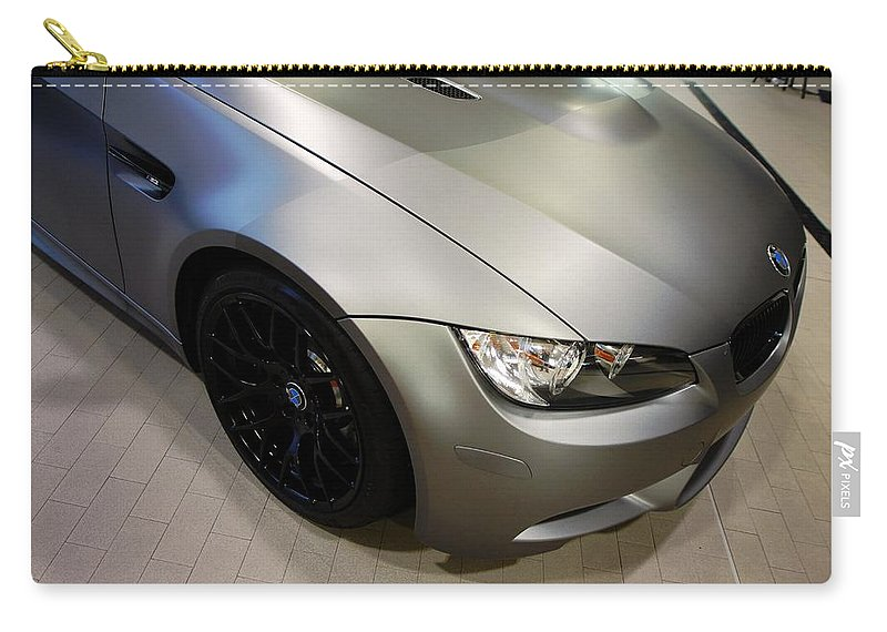 Bmw M3 Carry-all Pouch featuring the photograph Bmw M3 by Aaron Berg