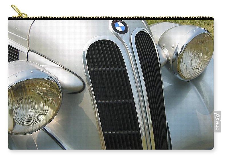 Bmw Carry-all Pouch featuring the photograph BMW by Neil Zimmerman