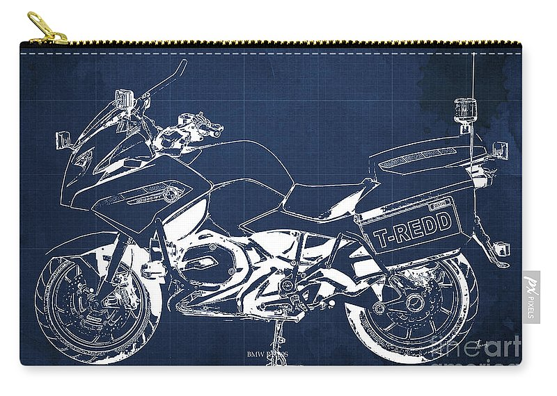 Bmw rt1200 police blueprint carry all pouch for sale by pablo franchi bmw carry all pouch featuring the mixed media bmw rt1200 police blueprint by pablo franchi malvernweather Choice Image