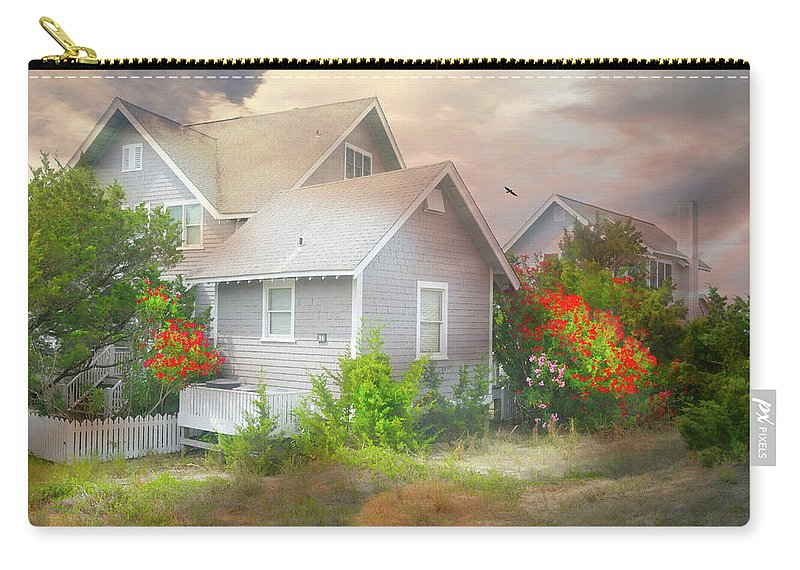 Bald Head Island Carry-all Pouch featuring the photograph Board Games by Diana Angstadt