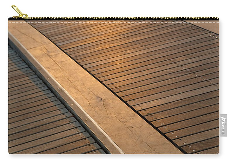 Boardwalk Carry-all Pouch featuring the photograph Boardwalk by Sebastian Musial