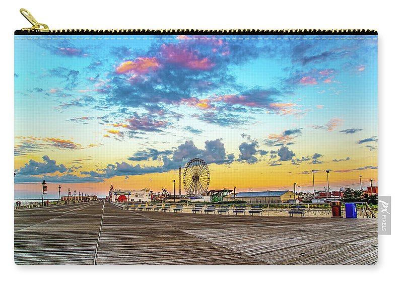 J. Zaring Carry-all Pouch featuring the photograph Boardwalk Wonder by Joshua Zaring