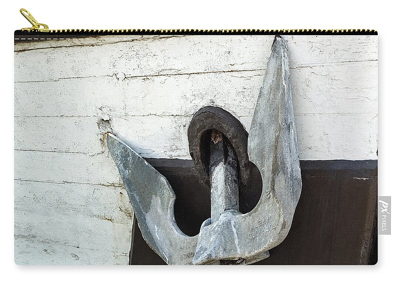 Boat Anchor Carry-all Pouch featuring the photograph Boat Anchor by Tikvah's Hope