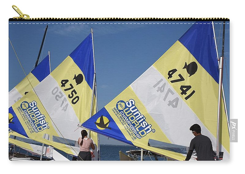 Boats Carry-all Pouch featuring the photograph Boats 167 by Joyce StJames
