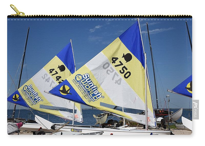 Boats Carry-all Pouch featuring the photograph Boats 168 by Joyce StJames