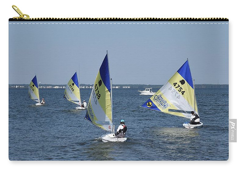 Boats Carry-all Pouch featuring the photograph Boats 172 by Joyce StJames