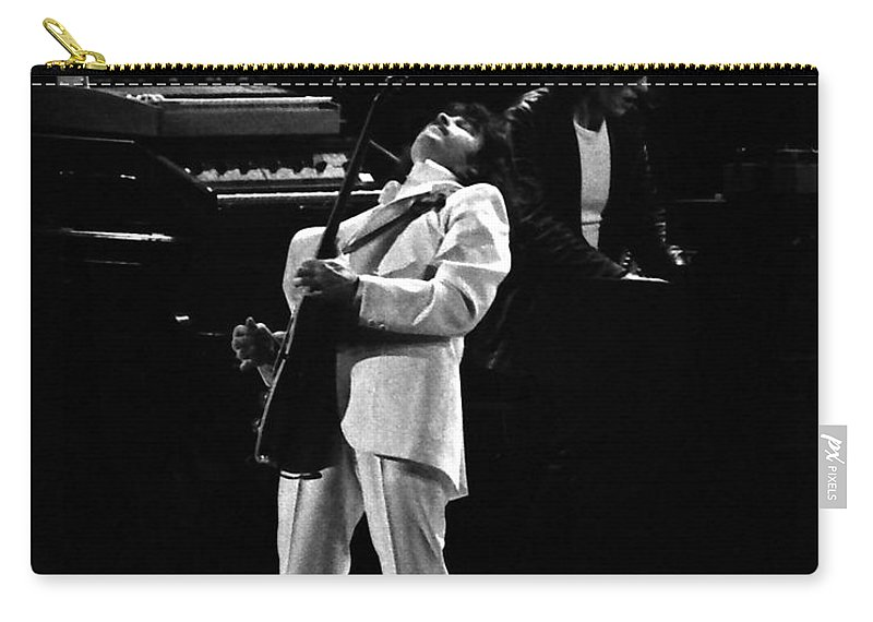 Blue Oyster Cult Carry-all Pouch featuring the photograph Boc#148 by Ben Upham