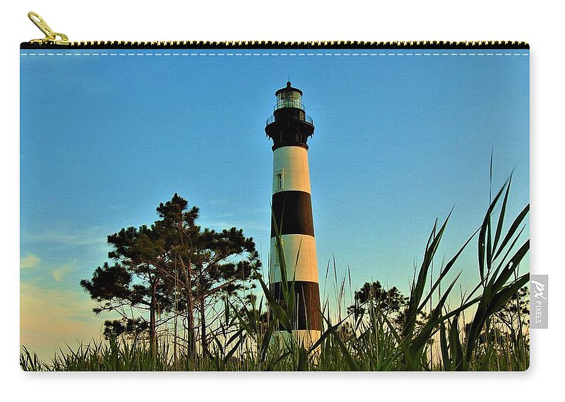 Outer Banks Carry-all Pouch featuring the photograph Bodie Island Evening by Sean Paul Ballentine