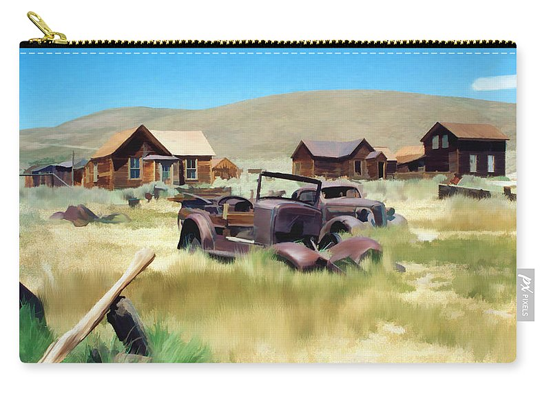 Bodie Carry-all Pouch featuring the photograph Bodie by Kurt Van Wagner