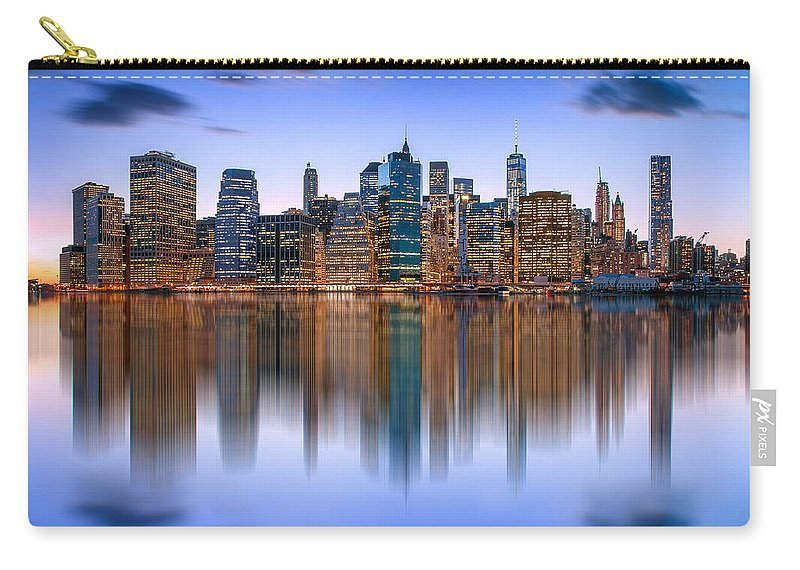 New York City Carry-all Pouch featuring the photograph Bold And Beautiful by Az Jackson