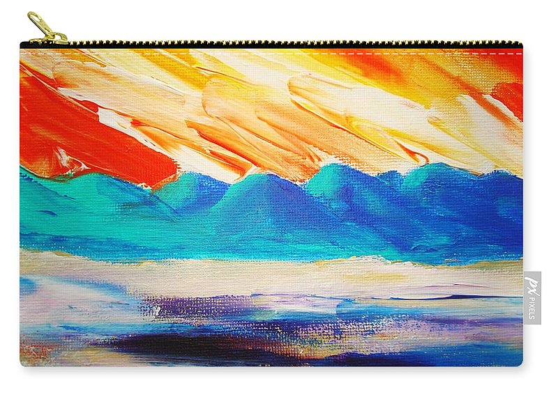 Bright Carry-all Pouch featuring the painting Bold Day by Melinda Etzold
