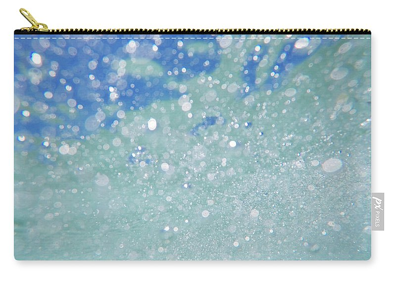 Carry-all Pouch featuring the photograph Bondi Beach by Chris Lane