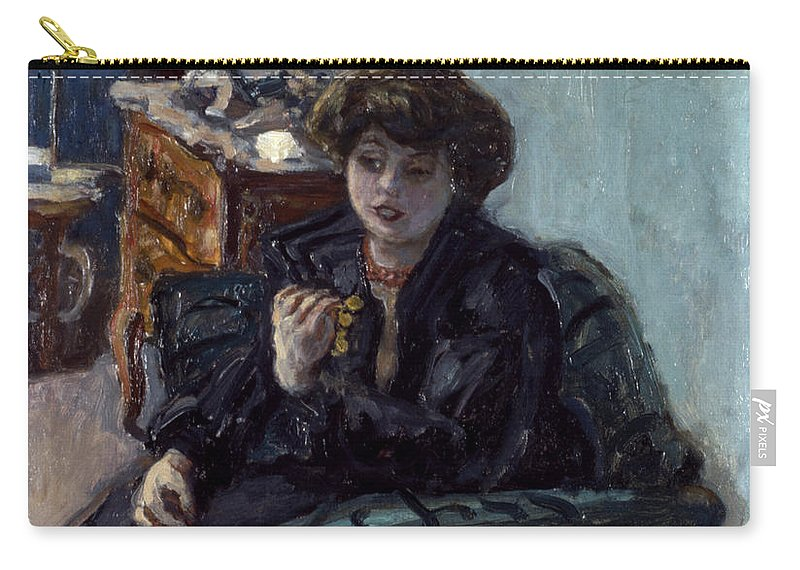 19th Century Carry-all Pouch featuring the photograph Bonnard: Lady, 19th C by Granger
