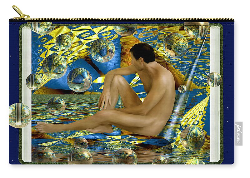 Nudes Carry-all Pouch featuring the photograph Book Of Dreams by Kurt Van Wagner