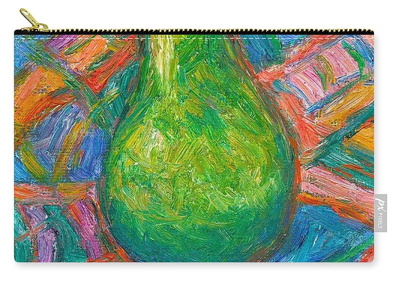 Still Life Carry-all Pouch featuring the painting Bosc Beauty by Kendall Kessler