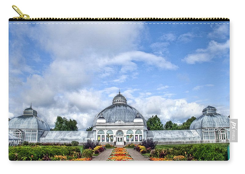 Buffalo Carry-all Pouch featuring the photograph Botanical Gardens by Tammy Wetzel