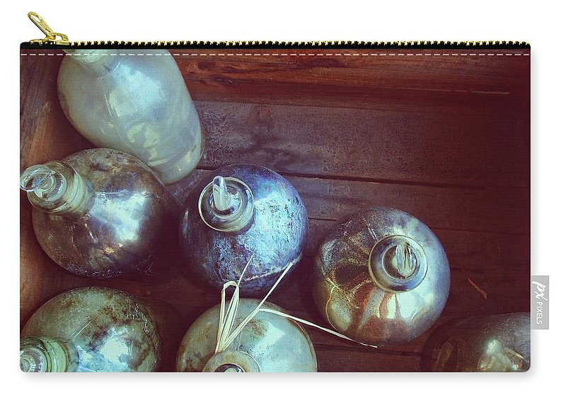 Bottle Carry-all Pouch featuring the photograph Bottled Time by JAMART Photography