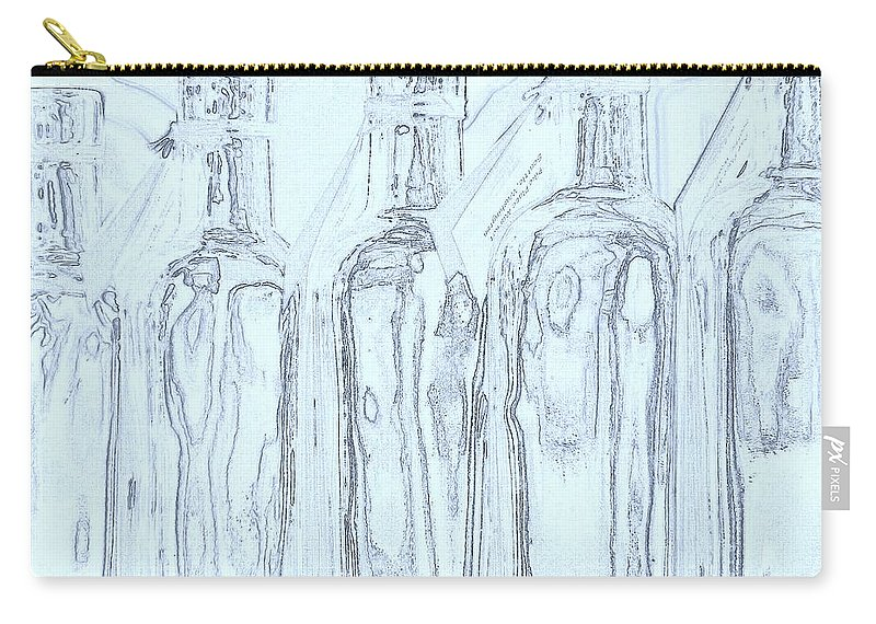 Seattle Carry-all Pouch featuring the photograph Bottles 2 by Tim Allen