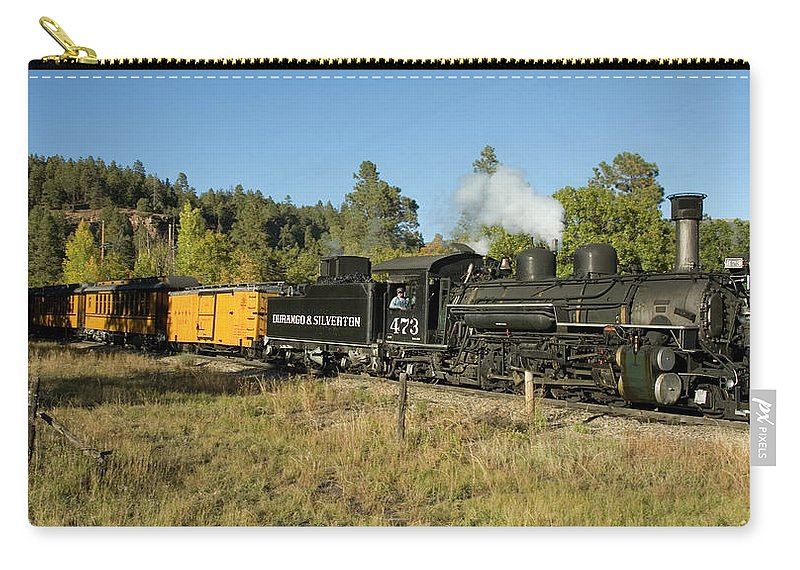 Durango Carry-all Pouch featuring the photograph Bound For Durango by Jerry McElroy