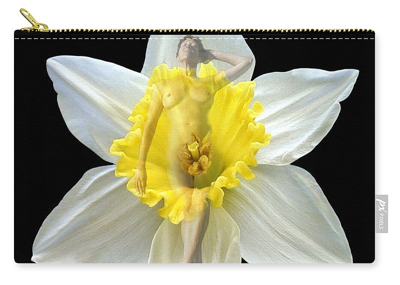 Nudes Carry-all Pouch featuring the photograph Bouquet by Kurt Van Wagner