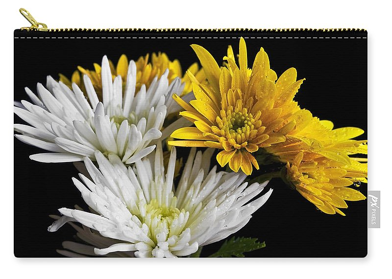Flowers Carry-all Pouch featuring the photograph Bouquet by Svetlana Sewell
