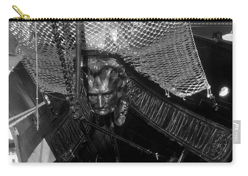 Captain Miranda Carry-all Pouch featuring the photograph Bow Of The Captain Miranda by David Lee Thompson