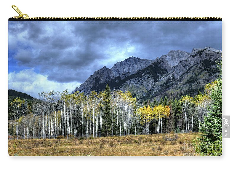 Animals Carry-all Pouch featuring the photograph Bow Valley Parkway Banff National Park Alberta Canada IIi by Wayne Moran