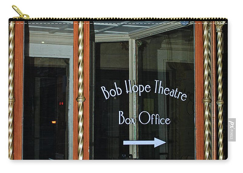 Box Office Carry-all Pouch featuring the photograph Box Office by Tikvah's Hope