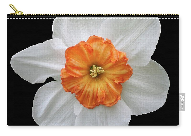 Flowers Carry-all Pouch featuring the photograph bp4 by Krisjan Krafchak