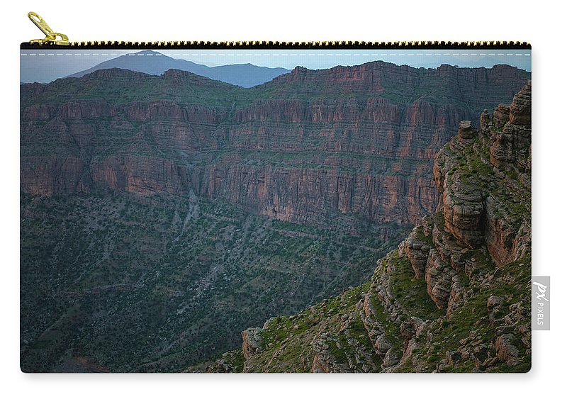 Bradost Carry-all Pouch featuring the photograph Bradost Mountain by Adam Mirani