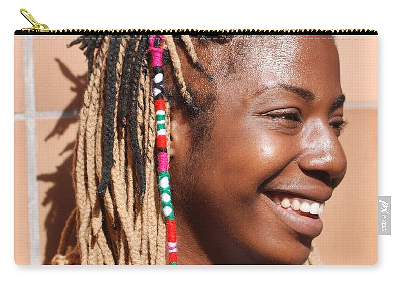 People Carry-all Pouch featuring the photograph Braided Lady by Rob Hans