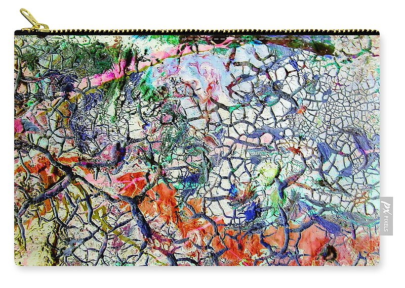 Branches Carry-all Pouch featuring the painting Branches Of Life by Dawn Hough Sebaugh