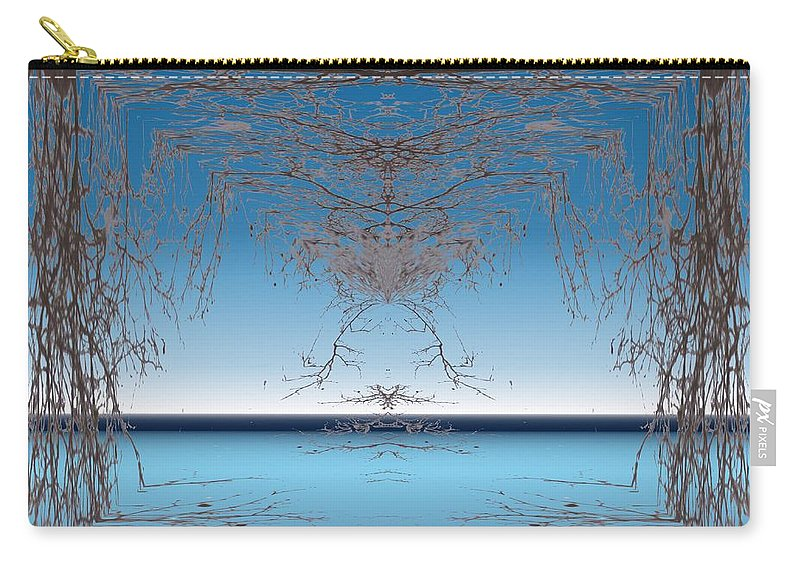 Branches Carry-all Pouch featuring the photograph Branching Outward by Tim Allen