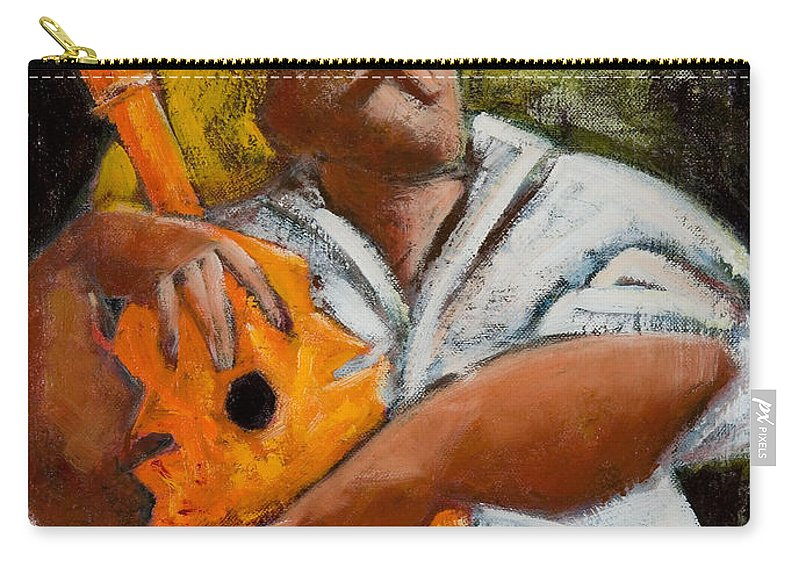 Puerto Rico Carry-all Pouch featuring the painting Bravado Alla Prima by Oscar Ortiz