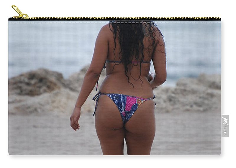 Sexy Carry-all Pouch featuring the photograph Brazilian Beauty by Rob Hans
