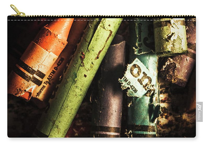Creative Carry-all Pouch featuring the photograph Breakdown Of Color by Jorgo Photography - Wall Art Gallery