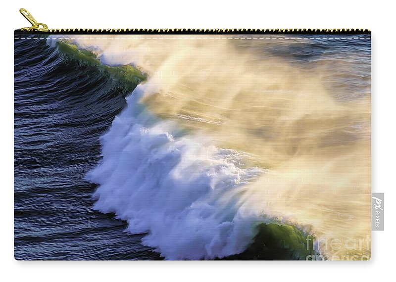 Jon Burch Carry-all Pouch featuring the photograph Breaker by Jon Burch Photography