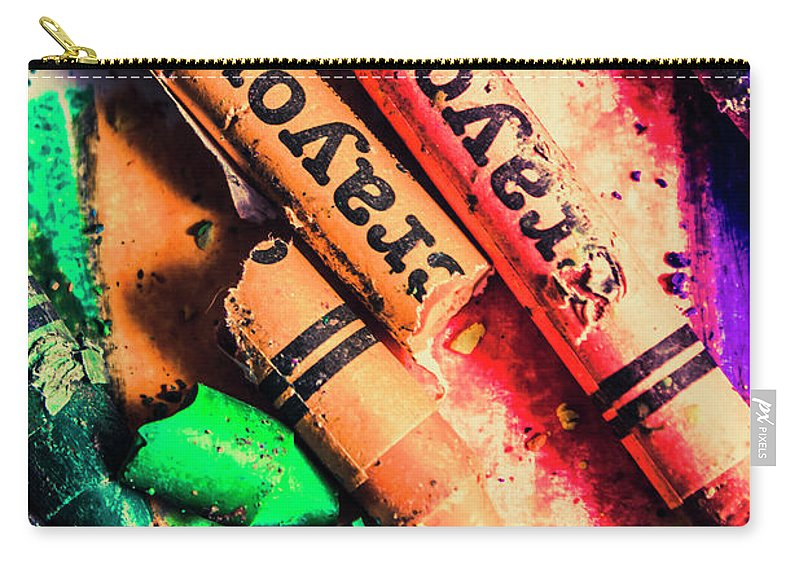 School Carry-all Pouch featuring the photograph Breaking The Creative Spectrum by Jorgo Photography - Wall Art Gallery