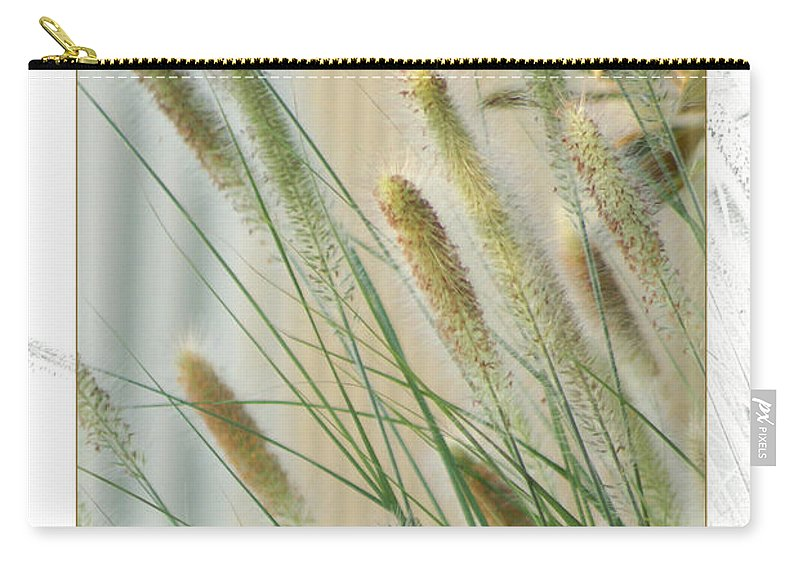 Floral Carry-all Pouch featuring the photograph Breeze by Holly Kempe