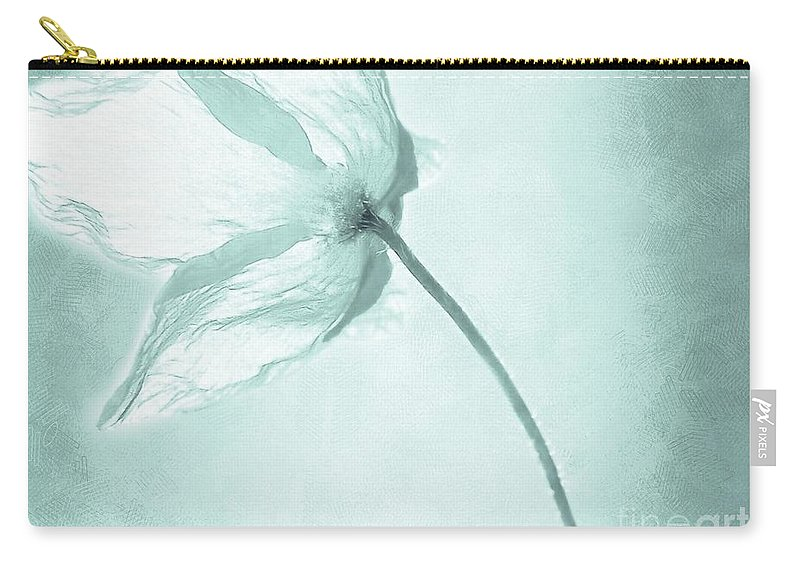 Flower Carry-all Pouch featuring the painting Breeze by Jacky Gerritsen