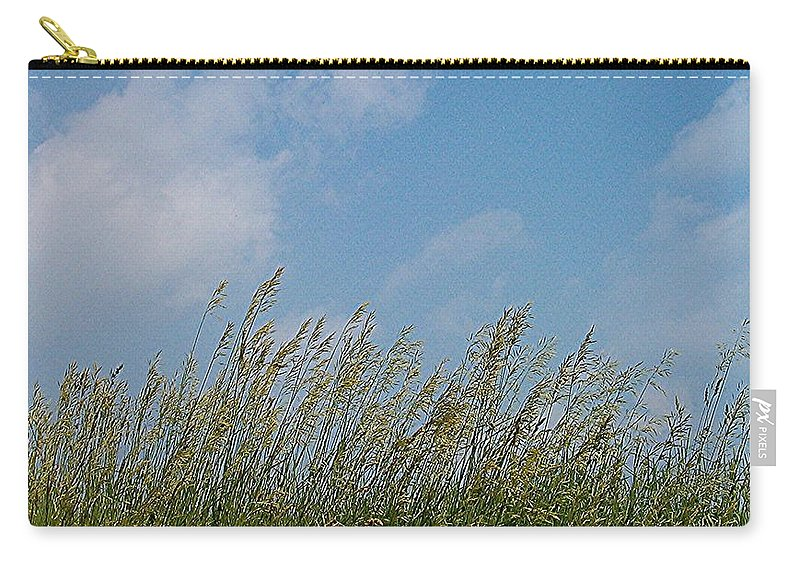 Sky Carry-all Pouch featuring the photograph Breezy Day by Sara Raber
