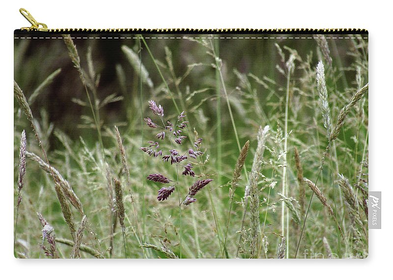 Grass Carry-all Pouch featuring the photograph Breezy Summer 2 by Kim Tran