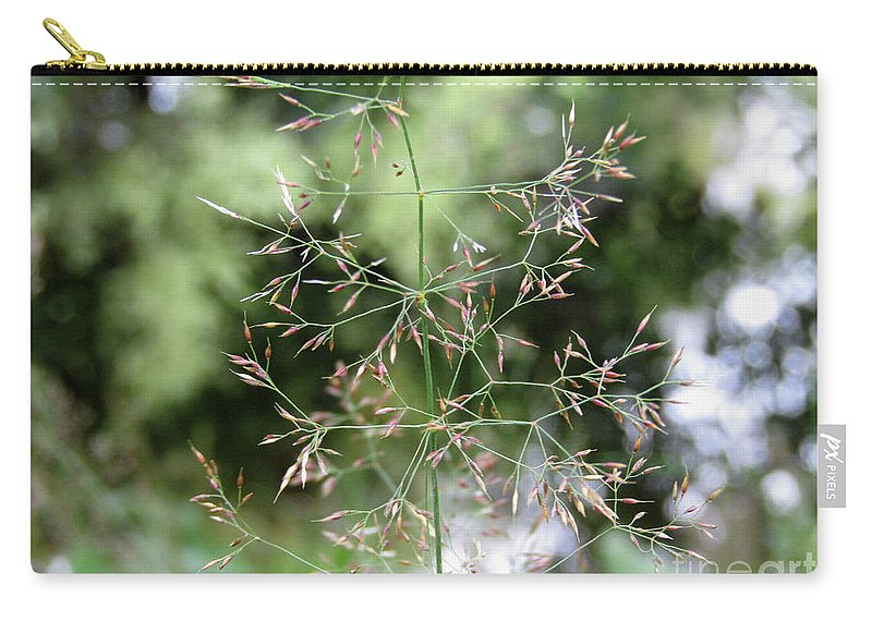 Grass Carry-all Pouch featuring the photograph Breezy Summer by Kim Tran