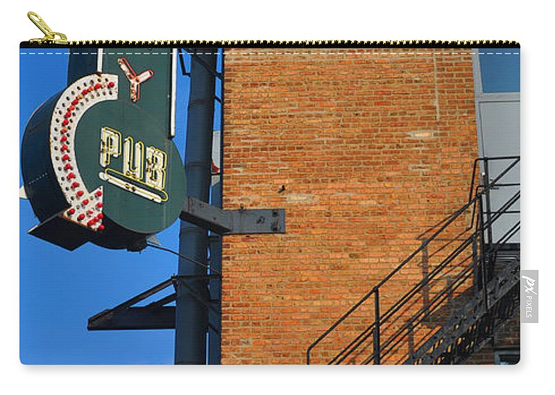 Chicago Carry-all Pouch featuring the photograph Brewery Pub by Tim Nyberg