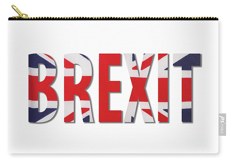 Brexit Carry-all Pouch featuring the photograph Brexit by Diane Macdonald